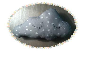 Coussin ou doudou nuage