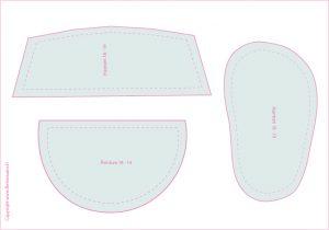 chaussons pour b b flo les mains blog diy ducation positive z ro d chet. Black Bedroom Furniture Sets. Home Design Ideas