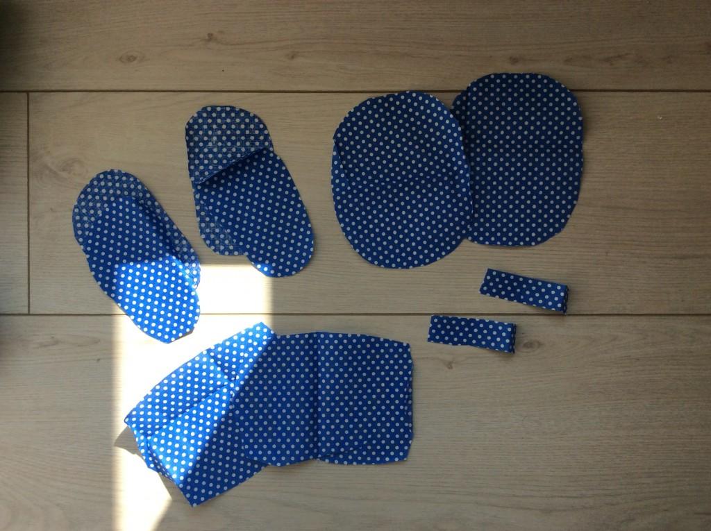 chaussons pour bébé. DIY pas à pas
