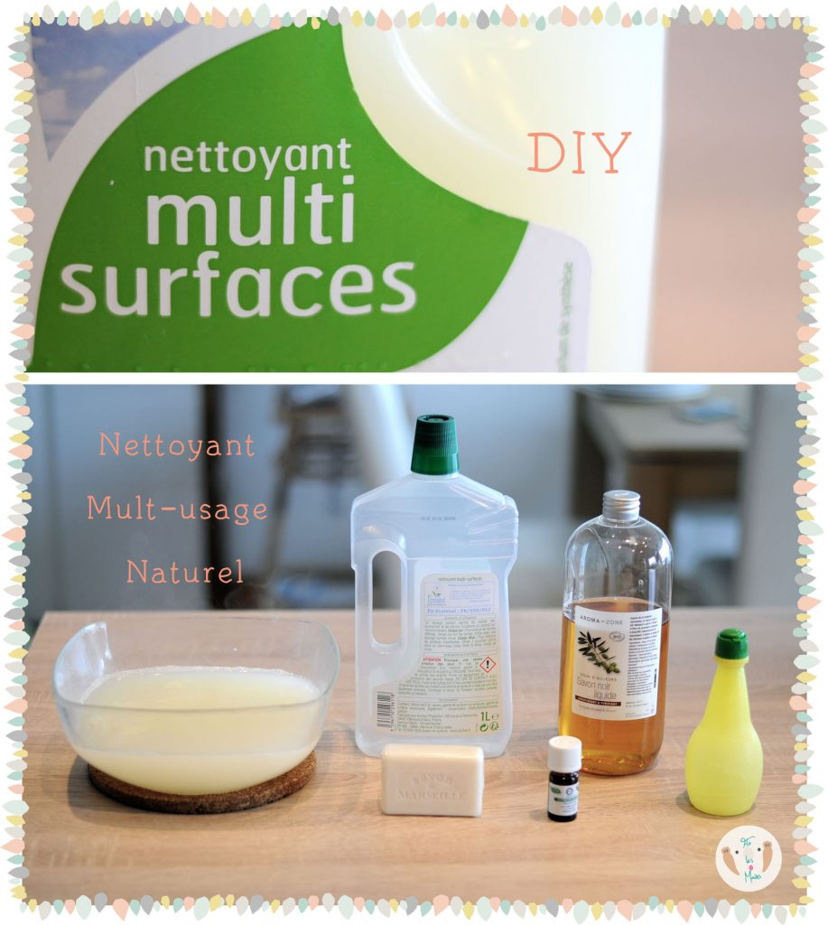 DIY nettoyant multi-usage naturel