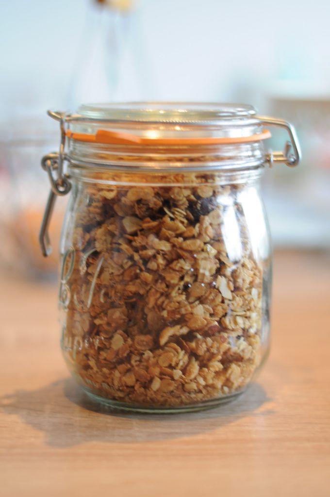 {DIY} Recette ultime de granula ou muesli croustillant comme celle du supermarché mais en bio et zéro déchet.