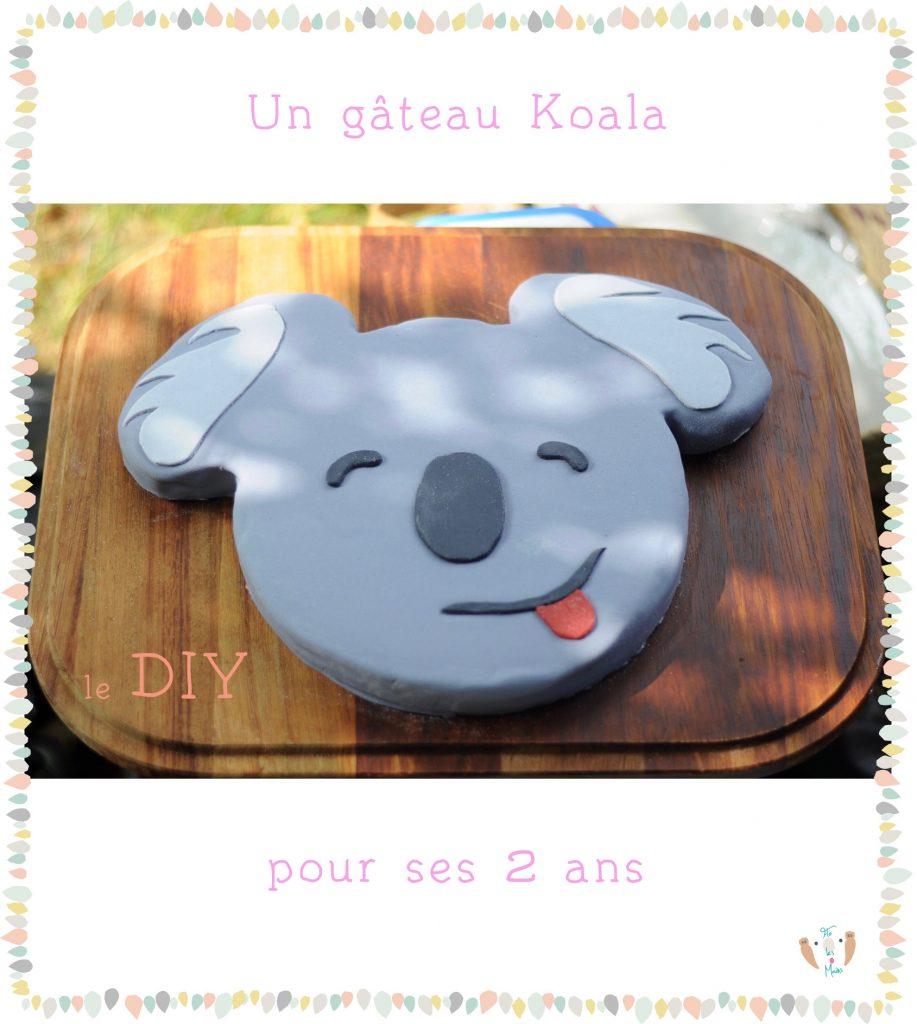Un Gateau Koala Pour Ses Deux Ans Flo Les Mains Blog Diy